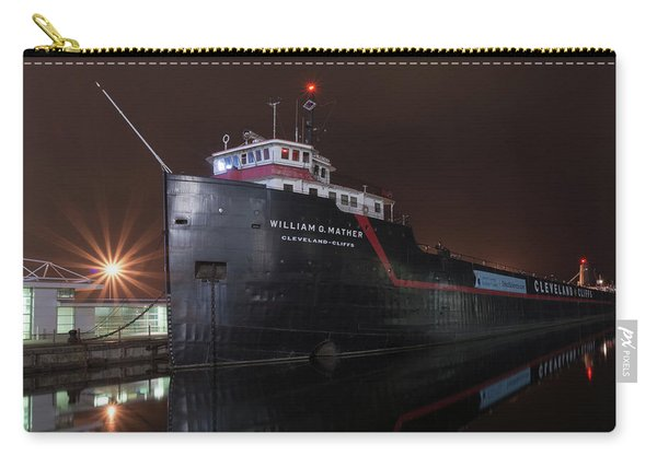 William G Mather At Night  Carry-all Pouch