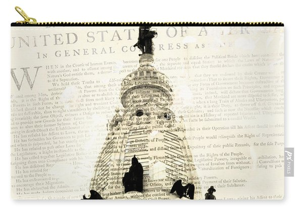 William Penn City Hall V1 Carry-all Pouch