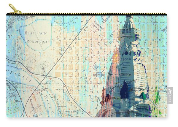 William Penn City Hall V2 Carry-all Pouch