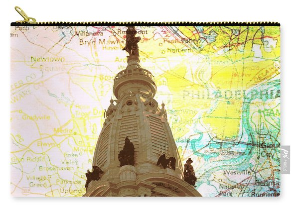 William Penn City Hall V3 Carry-all Pouch