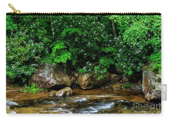 Williams River And Rhododdendron Carry-all Pouch