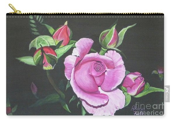 Will's Rose Carry-all Pouch