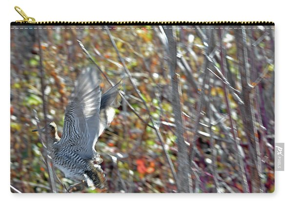 Wilson's Snipe Takeoff Flight Carry-all Pouch