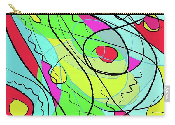 Wind And Leaves Carry-all Pouch