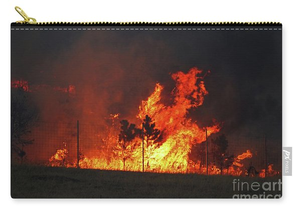 Wildfire Flames Carry-all Pouch