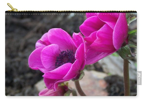 Wind Flower Carry-all Pouch