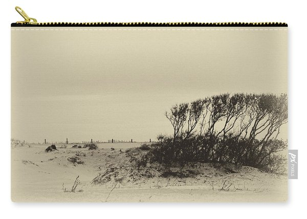 Wind Grown Beach Trees Carry-all Pouch
