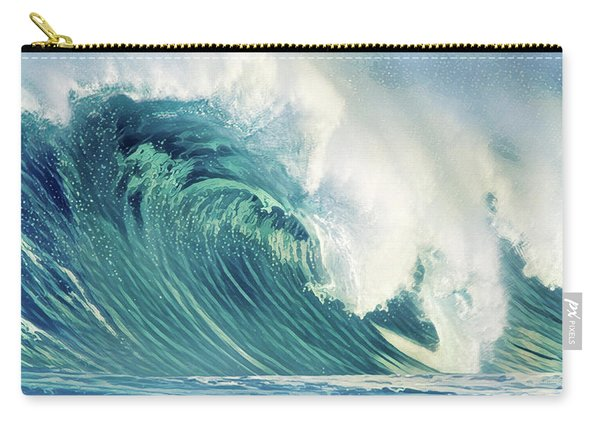 Wind Waves Carry-all Pouch