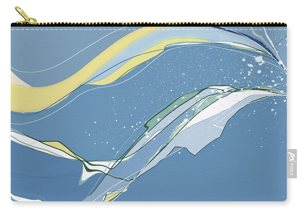 Carry-all Pouch featuring the digital art Windblown by Gina Harrison