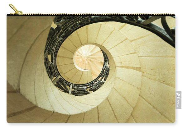 Winding Staircase. France. Europe. Carry-all Pouch