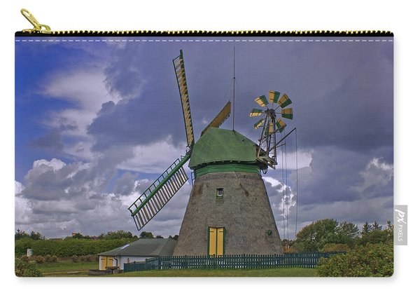 Windmill Amrum Germany Carry-all Pouch