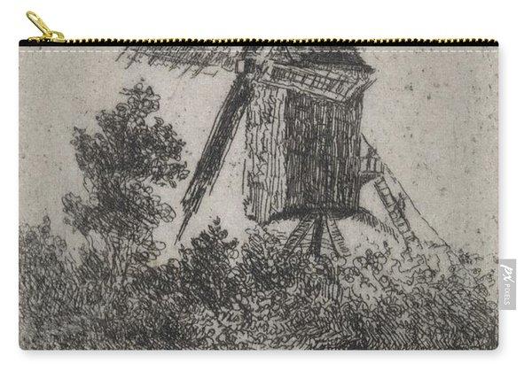 Windmill, Arnoud Schaepkens, 1831 - 1904 Carry-all Pouch