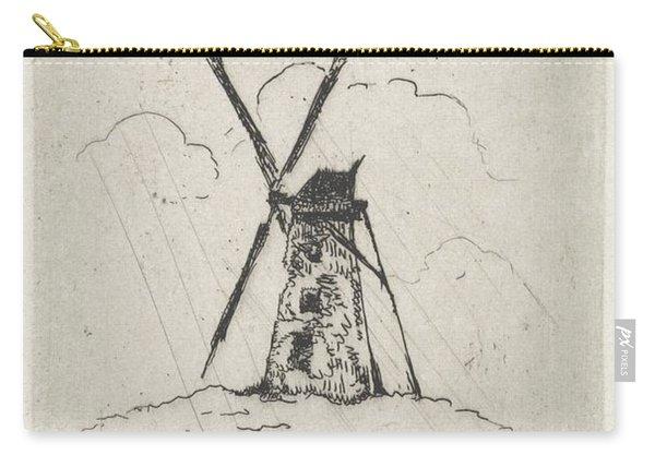 Windmill, Arnoud Schaepkens, 1831 - 1904 N Carry-all Pouch
