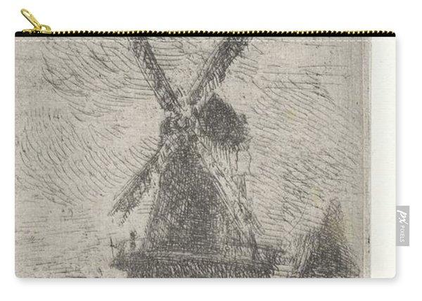 Windmill, Arnoud Schaepkens, 1831 - 1904 V Carry-all Pouch