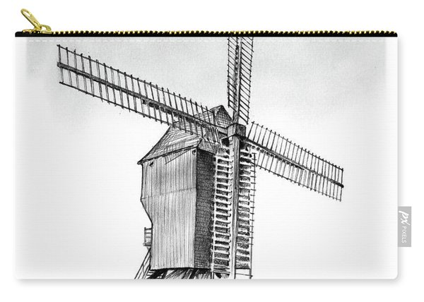 Windmill At Valmy Carry-all Pouch