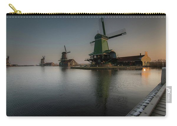 Windmill Sunrise Carry-all Pouch
