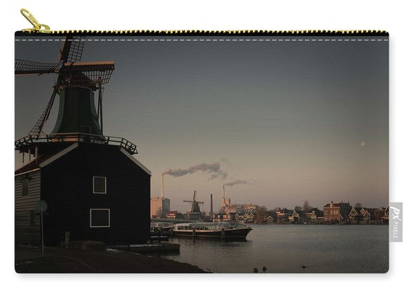 Windmill Town Carry-all Pouch