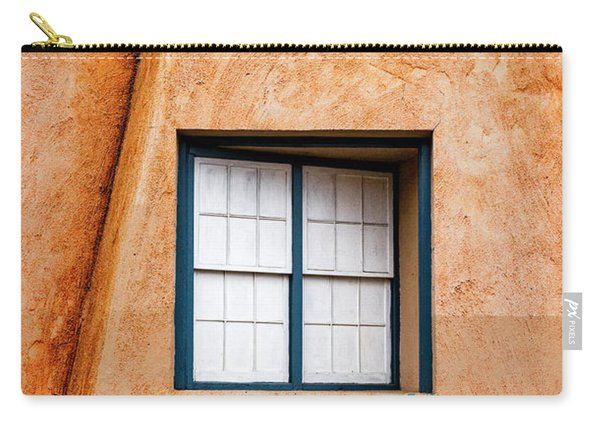 Window And Adobe Walls Carry-all Pouch