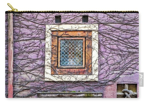 Window And Vines - Prague Carry-all Pouch
