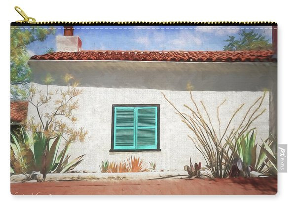 Window In Oracle Carry-all Pouch