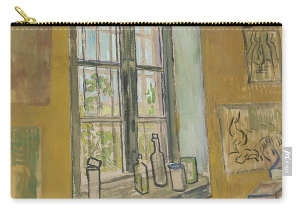 Window In The Studio Saint-remy-de-provence, September - October 1889 Vincent Van Gogh 1853 - 1890 Carry-all Pouch