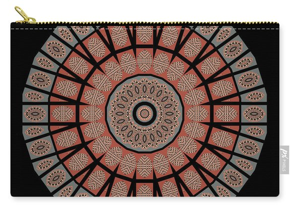 Window Mosaic - Mandala Carry-all Pouch