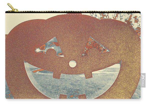 Window Pumpkin #1 Carry-all Pouch