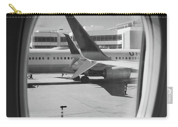 Window Seat Denver B W Carry-all Pouch