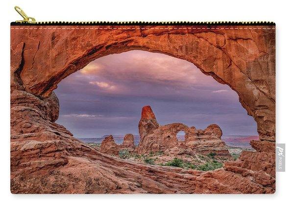 Windows At  Sunrise Carry-all Pouch