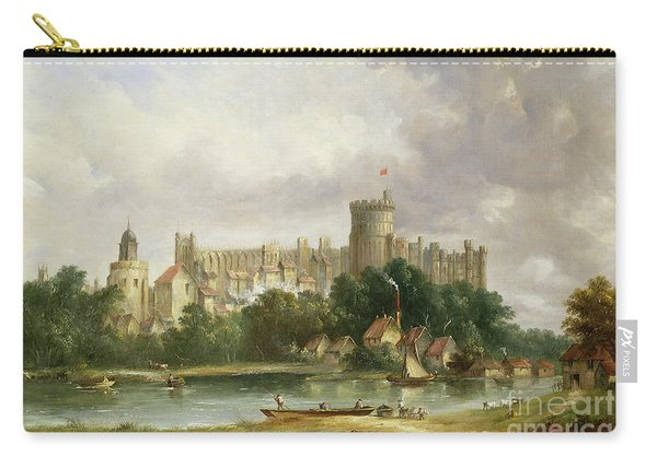 Windsor Castle - From The Thames Carry-all Pouch