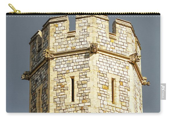 Windsor Castle Detail Carry-all Pouch