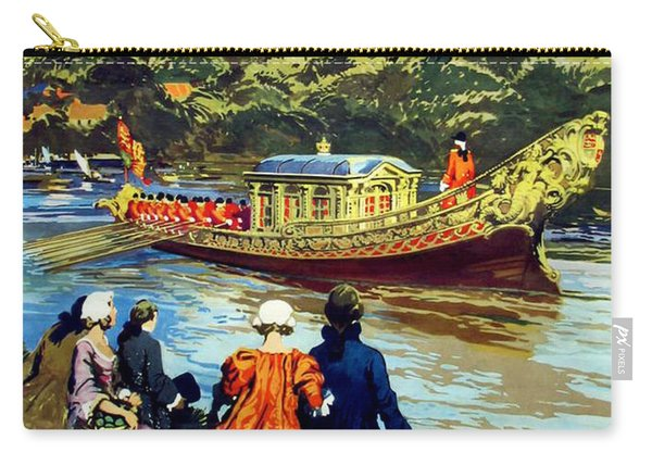Windsor, Queen Boat Heading To Palace Carry-all Pouch