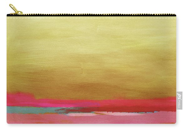 Windswept Sunrise- Art By Linda Woods Carry-all Pouch