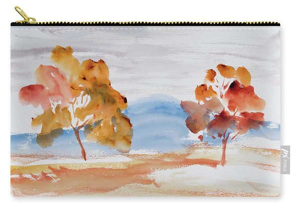Windy Autumn Colours  Carry-all Pouch