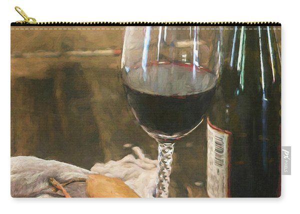 Wine And Pears Carry-all Pouch