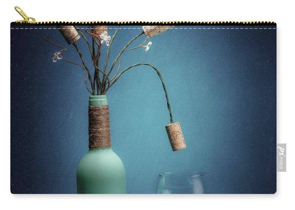 Wine Cork Bouquet Carry-all Pouch