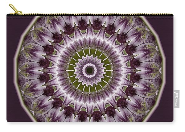 Wine Roses And Thorns Carry-all Pouch