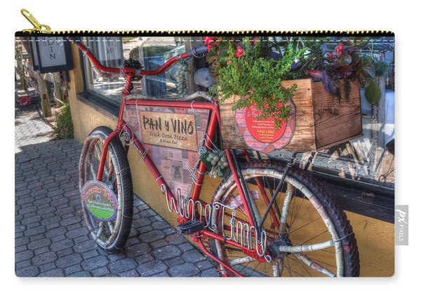 Carry-all Pouch featuring the photograph Wine Time by Michael Colgate