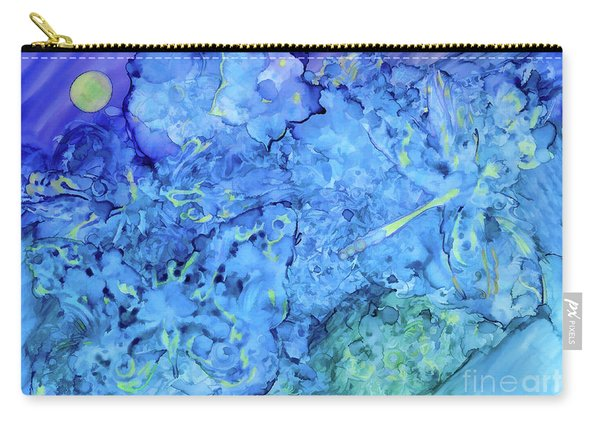 Winged Chaos Under The Moon Carry-all Pouch