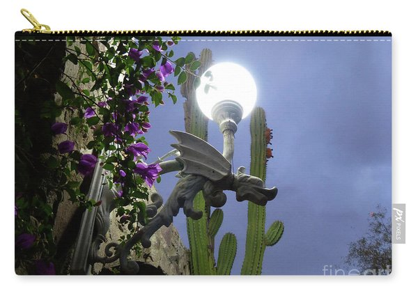 Winged Gargoyle In El Fuerte Carry-all Pouch