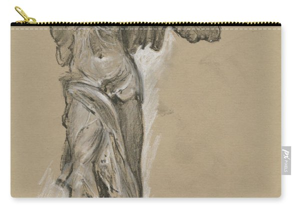 Winged Vicory Of Samothrace Carry-all Pouch