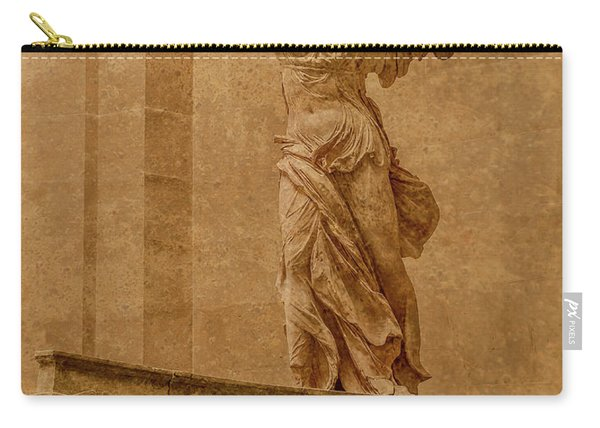 Paris, France - Louvre - Winged Victory Carry-all Pouch