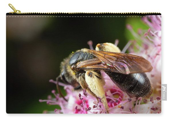 Carry-all Pouch featuring the photograph Wings N Thighs by Brian Hale