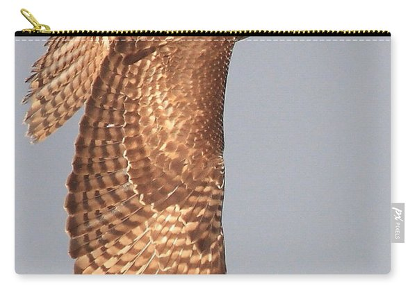 Wings Of A Red Tailed Hawk Carry-all Pouch