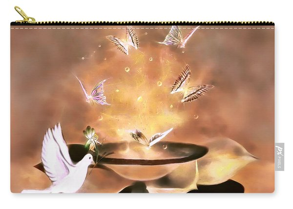 Wings Of Magic Carry-all Pouch