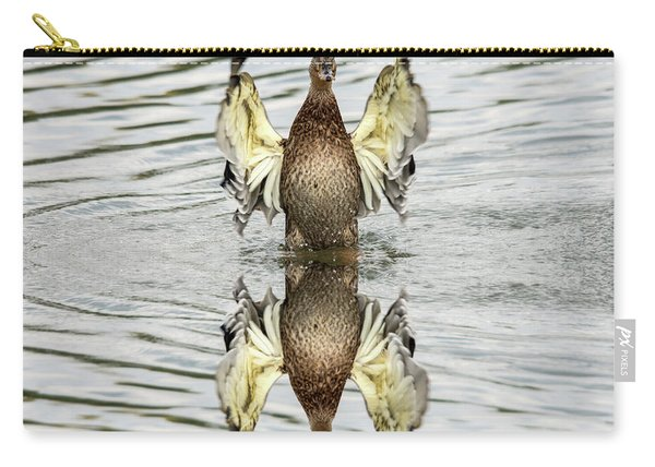 Wings Up Reflection  Carry-all Pouch