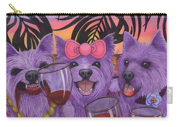 Wining Westies Carry-all Pouch