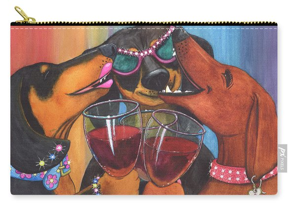 Wining Wieners Carry-all Pouch