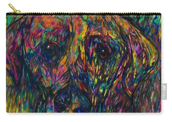Winnie The Dog Carry-all Pouch