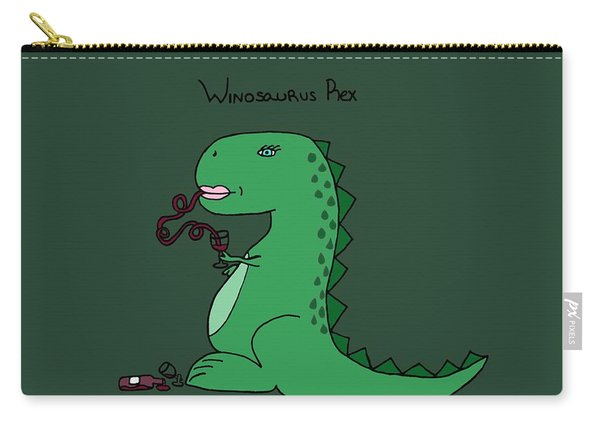 Winosaurus Rex Carry-all Pouch